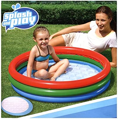 Bestway Splash & Play Summer - Juego de piscina hinchable para ...