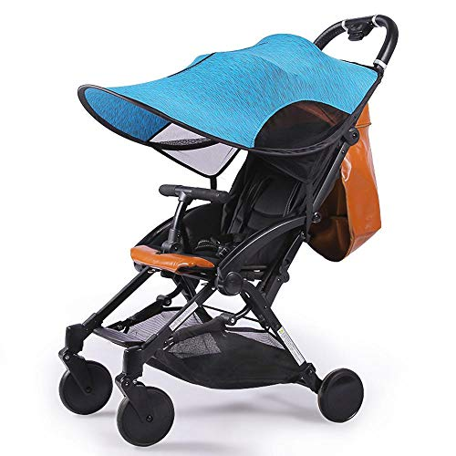 Universal Baby Stroller Canopy Extender,Sun Shade Cover/Sun Protection Parasol,Blocks 99% of UV Windproof Lycra Awning,Infant Stroller Accessories Visor for Stroller Pram Buggy Pushchair
