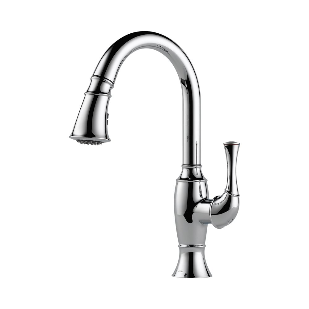 Brizo 63003lf Pc Talo Kitchen Faucet With Pullout Spray Chrome