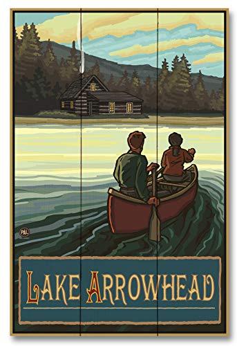 Lake Arrowhead Wood Art Print by Paul A. Lanquist (12