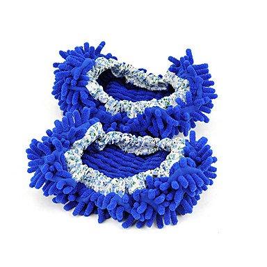 LQXZM flip-flops Primavera / Autunno di rigatura Casual sintetico tacco piatto Altri / Pom-pom blu / marrone / viola gli altri