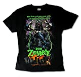 Rob Zombie Walk the Earth No Room in Hell Mens Black T Shirt (3X)