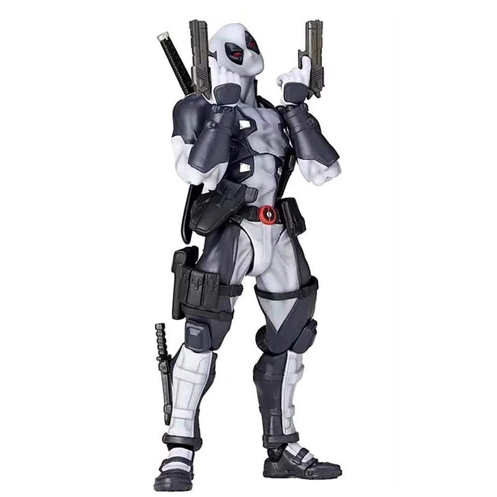 iBaste_Poupée Pour Kits de Garage Modèle de Personnage de Dessin Animé Mobile de Deadpool