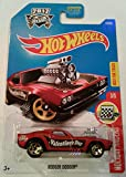 Hot Wheels 2017 HW Holiday Racers Rodger Dodger 73/365, Maroon