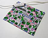 """Replacement Cover for 12"""" x 15"""" Heating Pad ~ Heating Pad Cover ~ Cover Only ~ Trendy Potted Cacti Print"""