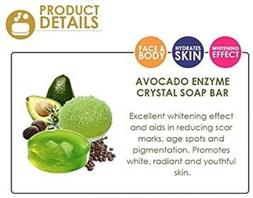 Amazon.com: 38 g + Cuidado de la piel enzima Crystal Bar ...
