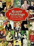 Renoir Paintings Giftwrap Paper, Pierre Auguste Renoir, 0486413624