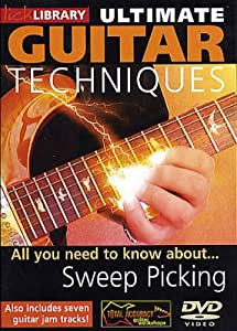 Ultimate Guitar Techniques: Sweep Picking [Import]