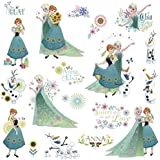 Defonia Fever 19 Wall Decals Anna Elsa Olaf Room Decor Stickers Flowers