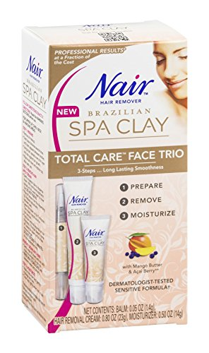 Nair Clay Total Face Trio .8 Oz, Pack of 6