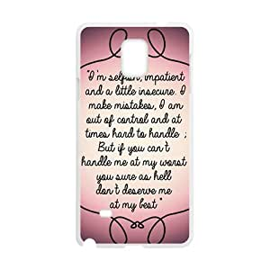Artistic note Cell Phone Case for Samsung Galaxy Note4