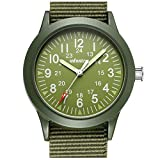 Best Army Watches - INFANTRY Mens Army Military Field Analog Watch Green Review