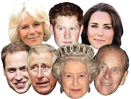 The Royals - Multipack - 7 Celebrity Face -