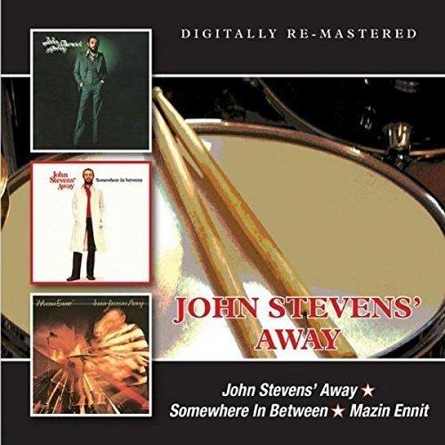 CD : John Away Stevens - John Stevens Away/ Somewhere In Between/ Mazin Ennit (United Kingdom - Import)