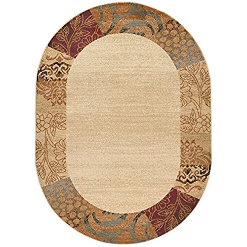 rug cream oval round p br tehran rugs persian traditional