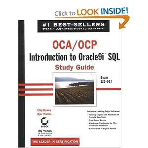 OCA/OCP: Introduction to Oracle9i SQL Study Guide Biju Thomas, Chip Dawes