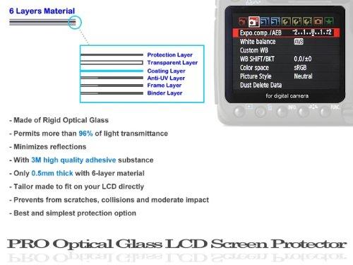 Photo Plus LCD Screen Guard (Glass) for Nikon D90