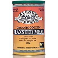 Stoney Creek Organic Golden Flaxseed Meal 500 g