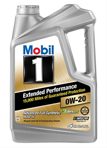 Mobil 1 120903 Extended Performance 0W-20 Motor Oil - 5 Quart