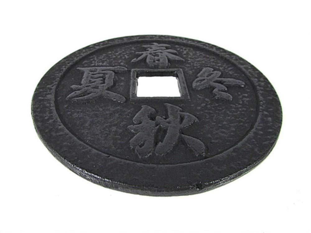 Kanji Cast Iron Teapot Trivet Red TB33-R
