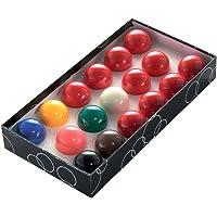 Formula Sports Standard Snooker Balls Boxed Set, 1 7/8 Inch Ball Size, Multicolour