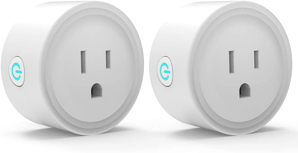 Upgrated Avatar Controls Smart Plugs Wi-Fi Outlet - Smart Plugs That Work With Alexa/Google Home/TuyaSmart/Smart Life, Programmable Countdown & Schedule Built In App, No Hub Required, 2 Pack