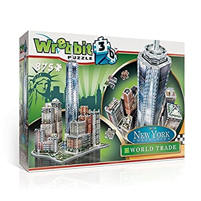 Wrebbit W3d 2012 Puzzle 3d World Trade 875 Pezzi