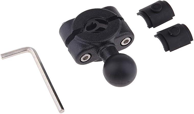 1 Sfera Adattatore Portacellulare Montaggio Specchietto Retrovisore 17mm Moto