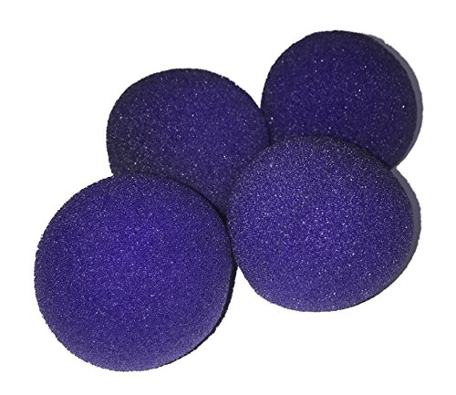 (London Magic Works Sponge Balls and Instructional DVD Trick Combo (Purple, 2 Inch))