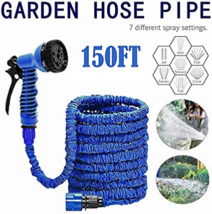 gaixample.org Watering Equipment Gardening Multi Modes 75FT Extra ...