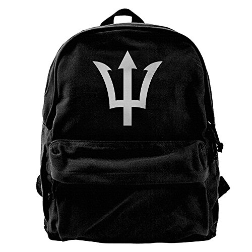 Us Olympian Costume (Rihvona Percy Jackson Symbol Trident Logo Canvas Backpack)
