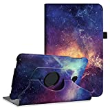 Fintie Rotating Case for Samsung Galaxy Tab A 10.1 - Premium PU Leather 360 Degree Swivel Stand Cover with Auto Sleep/Wake for Galaxy Tab A 10.1 Inch (NO S Pen Version SM-T580/T585/T587) Tablet,Galaxy