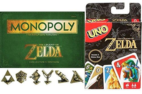 Ayb Legend Collectors Edition Game Set Zelda Go  Uno Card Game Special Rule Exclusive   Adventure Monopoly Board Game Collectors Edition