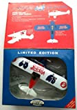 PEPSI Limited Edition KEYSTONE COPS #00507 Die-Cast Metal 1932 STEARMAN AIRPLANE Large Coin Bank (1996)