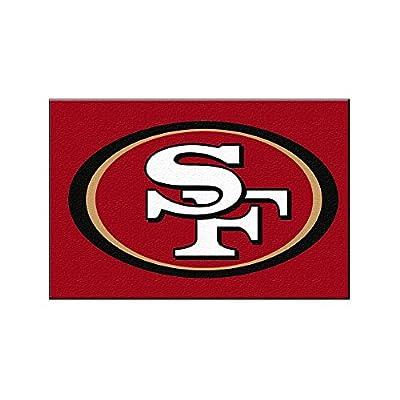 San Francisco 49ers NFL Rookie Bathroom Rug (19x30)