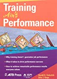 img - for Training Ain't Performance book / textbook / text book
