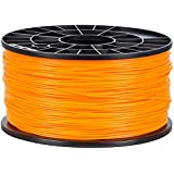NuNus 3D Printer ABS Filament 1.75mm 1KG noir - Bobine de fil plastique (orangé)