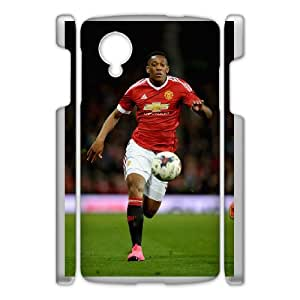 Google Nexus 5 Phone Case for Anthony Martial pattern design GQATNMRA845355