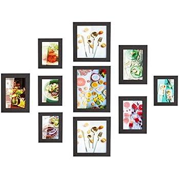Amazon.com - HOMFA 10pcs DIY Photo Frame Value Set, Picture Frames ...