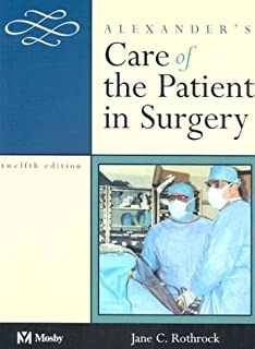 Alexander's Care of the Patient in Surgery (0323016227) | Amazon price tracker / tracking, Amazon price history charts, Amazon price watches, Amazon price drop alerts