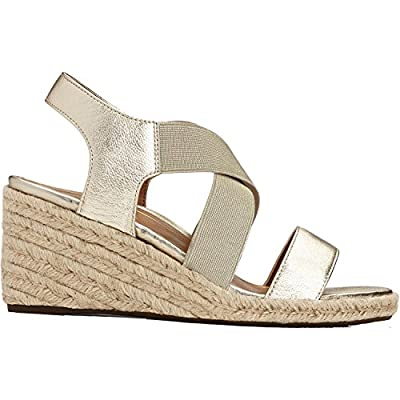 Vionic Women's Tulum Ainsleigh Backstrap Heels - Ladies Wedge Sandals with Concealed Orthotic Support