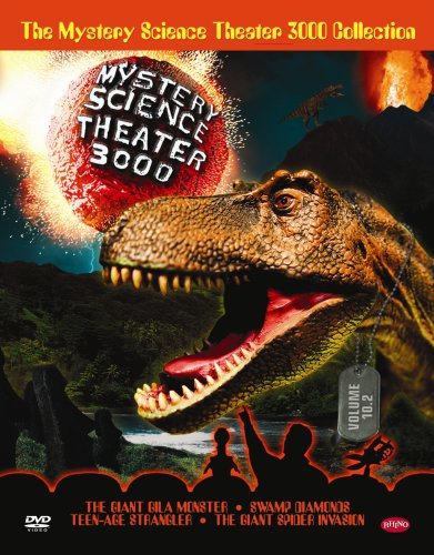 The Mystery Science Theater 3000 Collection: Volume 10.2 (Giant Gila Monster / Swamp Diamonds / Teenage Strangler / Giant Spider Invasion) by Rhino Home Video