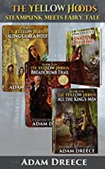 A world of inventors, adventure, and fairy tales made realA secret society is on the hunt for the first steam engine plans from master inventor Nikolas Klaus. When Tee, Elly, and Richy get caught in the middle, they're lives are forever alter...