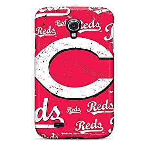 Cute Tpu Wade-cases Cincinnati Reds Case Cover For Galaxy S4 by supermalls
