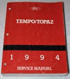 1994 Ford Tempo, Mercury Topaz Service Manual