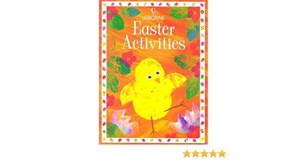 ,Fiona Watt Easter Activities Ray Gibson Usborne Activity Books