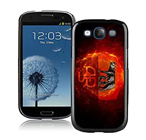 Fashion And Antiskid Cover Case For Samsung Galaxy S3 I9300 With As roma Black Phone Case 2