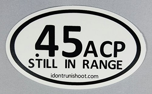 45 acp bumper stickers - 7