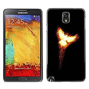 GagaDesign Phone Accessories: Hard Case Cover for Samsung Galaxy Note 3 - Flaming Phoenix 2