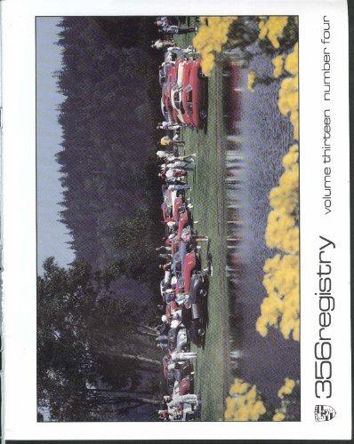 (356 REGISTRY Vol 13 #4 Porsche Port Ludlow Seat Belts Roll Bars UCLA ++ 1989)